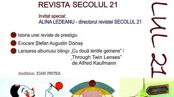 REVISTA SECOLUL 21 LA BISTRIŢA