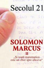 Sec21-Solomon Marcus_coperta1