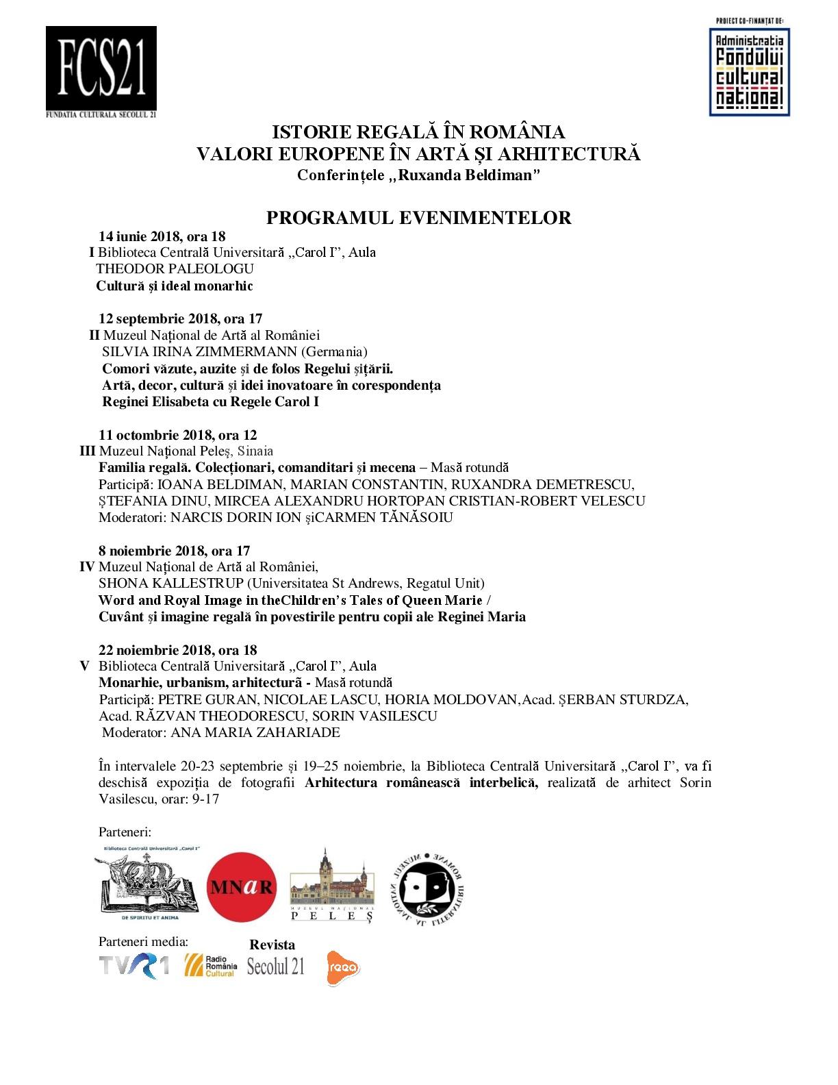 Programul evenimentelor-001