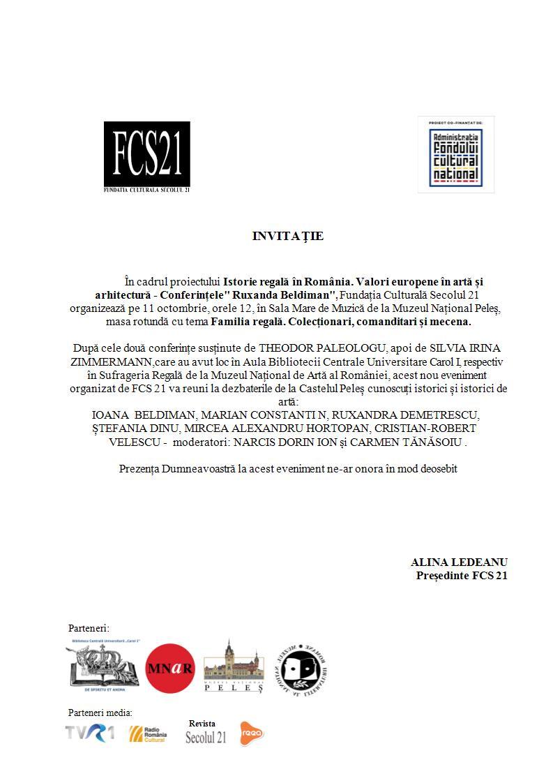 INVITAȚIE-masa-rotundă-Muzeul-Peleș