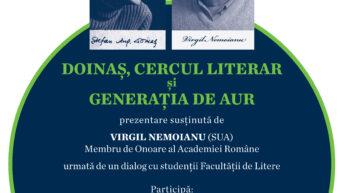 VIRGIL NEMOIANU (SUA), Membru de Onoare al Academiei Române
